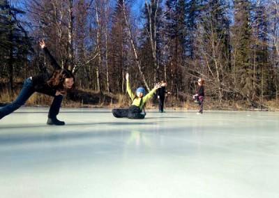 icesliding